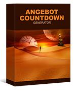 Angebot Countdown Generator