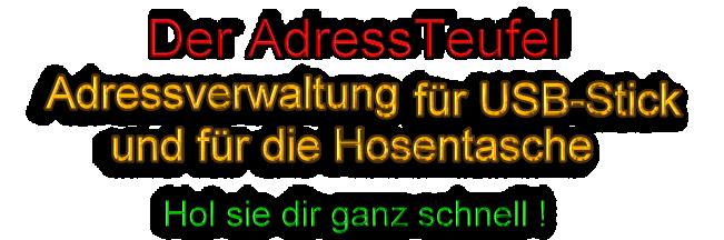 AdressTeufel Sofort GRATIS holen!