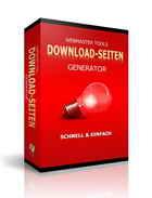 Erstelle im Hand umdrehen nun Deine DownloadSeiten ganz alleine,ohne jegliche HTML-Kenntnisse haben zu müssen !