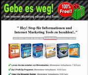 Hier können Sie sich Ihre WebMaster-Tools sofort GRATIS abholen !!
