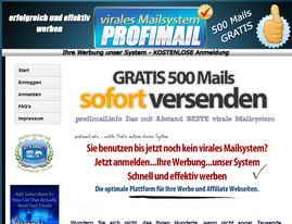 Versende Deine E-Mails auch über diesen guten Mailer !