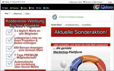 QDOO-Super-WerbeMögölichkeiten-Seiten bekannt machen und vieles andere mehr !