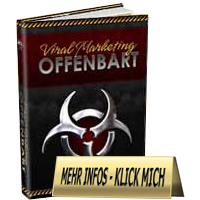 Ebook-Cover Viral Marketing Offenbart